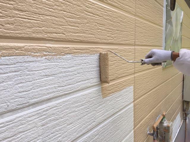 外壁塗装_上塗り