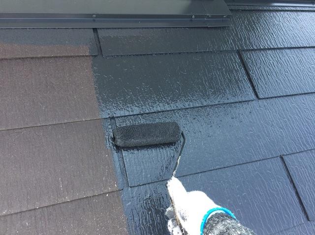 屋根塗装_下塗り